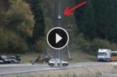 VIDEO: Vaata, kui kohutav näeb välja avarii kiirusel 200 km/h