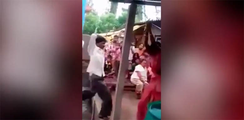 ŠOKEERIV VIDEO: Vaata, kuidas mees karistab teda petnud naist ning naise armukest
