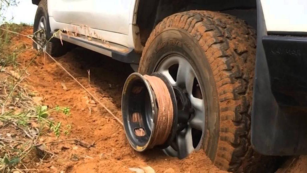 VIDEO: REVOLUTSIOONILINE velje vints - enam ei ole muret, et auto kuskile kinni jääb