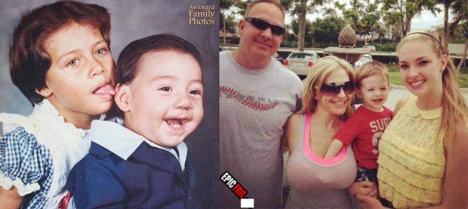 FOTOD: Väga kahtlased perefotod