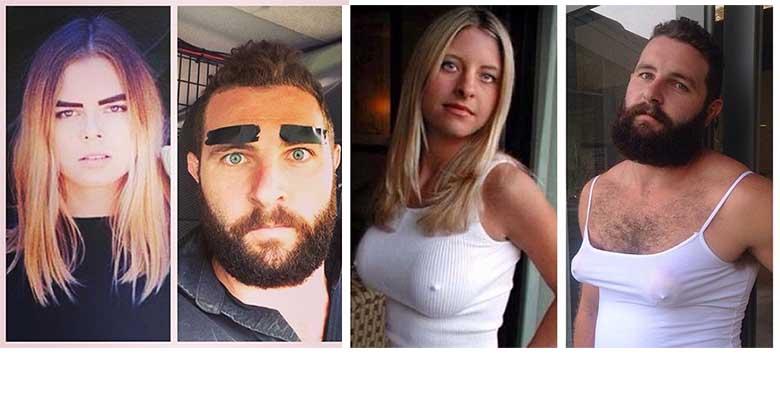 FOTOD: Hahaha - see mees teeb Tinderis olevaid naeruväärseid naiste fotosid järgi