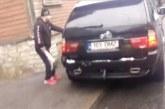 VIDEO: Vägivald Tallinnas – BMW maasturist  välja hüpav mees peksab kurikaga teise auto puruks