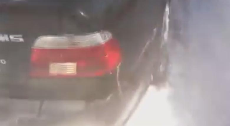 VIDEO: Natuke nalja - Audi vs. BMW lumes