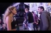 VIDEO: Mees sõimab võõrast naist litsiks, kuna ta riietub tema arust valesti – vaata, mis juhtuma hakkab…