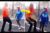 VIDEO: SEE SUUR mees saab korraliku õppetunni endast 2 korda väiksema mehe käest