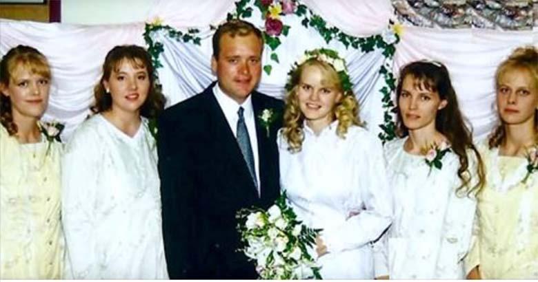 Mees abiellus viie naisega – vaata, milline on nende kodu