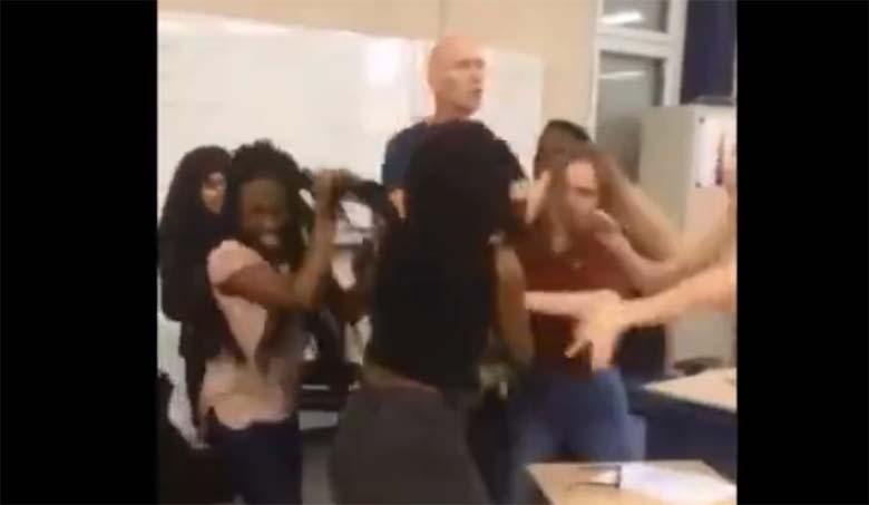 VIDEO: MULTIKULTUURNE KAKLUS koolis, mida meedia näidata ei soovi