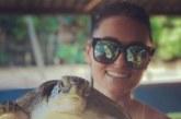 KUUMAD FOTOD: Grete Klein ja tema võrratu pruun keha Sri Lanka kuuma päikest nautimas