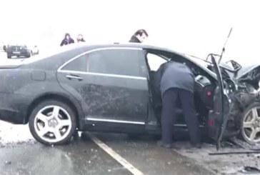 VIDEO: KOHUTAV õnnetus – BMW ja Mercedese laupkokkupõrge