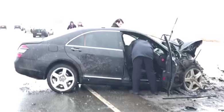 VIDEO: KOHUTAV õnnetus - BMW ja Mercedese laupkokkupõrge