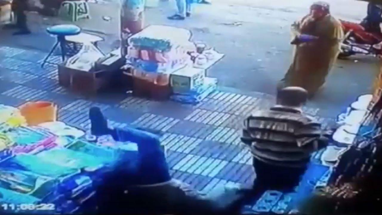 VIDEO: VAATA, MIS juhtub selle mehega, kui ta ühe naise peput katsub