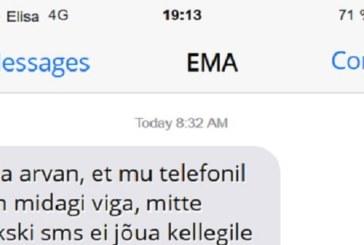 SEDA EMA saadetud sõnumit peab nägema – hahaha