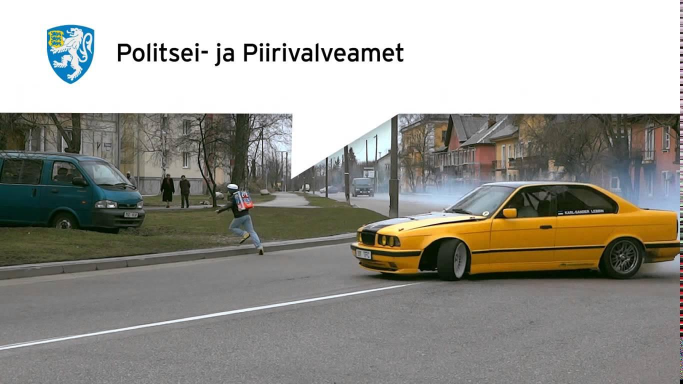TÄNAVAL TRIKKE tegev autojuht...