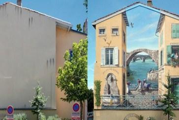 FOTOD: VAPUSTAV, KUIDAS tänavakunst teeb imet hoonetega