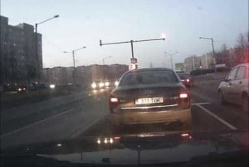 VIDEO: Lasnamäel liiklus nagu Venemaal