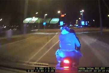 VAATA VIDEOT TAGAAJAMISEST, KUS politsei rammis Tallinnas suurel kiirusel mootorratast