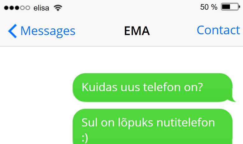 EMA JA nutitelefon