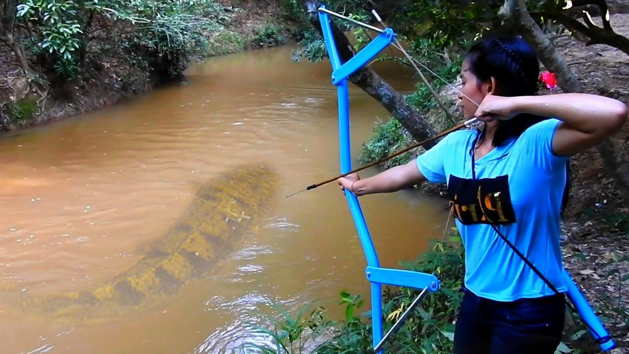 VIDEO: USKUMATU, kuidas see tüdruk kala püüab