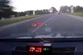VIDEO: HULLUMEELNE KIHUTAMINE – Narva politseipatrulli eest põgenes suurel kiirusel  roolijoodik
