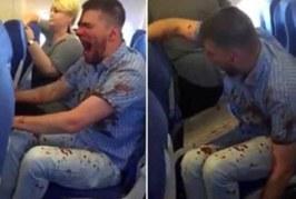 VIDEO: LENNUREISIJAD said šoki, kui nägid mida see mees nende kõrval tegi…
