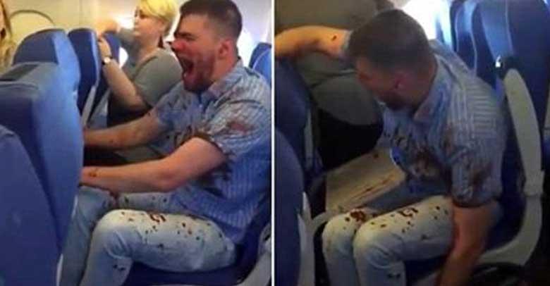 VIDEO: LENNUREISIJAD said šoki, kui nägid mida see mees nende kõrval tegi...