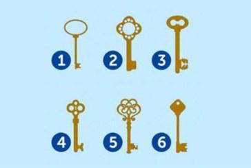 VALI KIIRESTI ÜKS võti ja saa teada, milline isiksus sa oled – testi täpsus võib sind üllatada