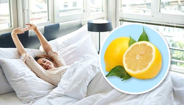 LOE, MIS juhtub, kui jätta magamistoa voodikapile sidrun