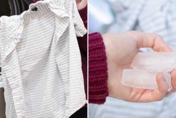 SEE NAINE LISAB oma pesule jääkuubikuid. Sa ei usu geniaalset põhjust, miks…