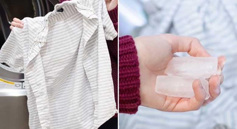SEE NAINE LISAB oma pesule jääkuubikuid. Sa ei usu geniaalset põhjust, miks...