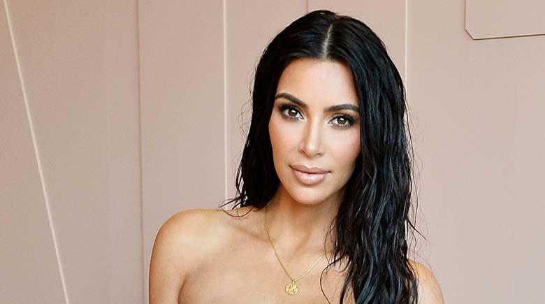 FOTO: MISASI see on – Kim Kardashian pani galaõhtul selga paljastava kleidi, mis meenutab kingipaki paelu