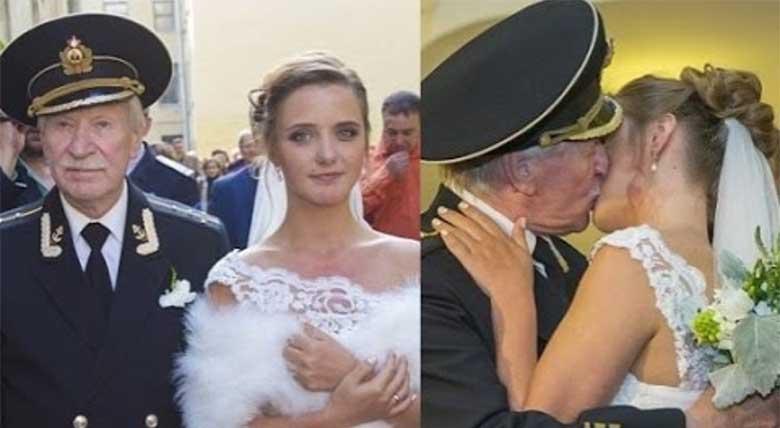 VIDEO: 24-aastane naine  abiellus 84-aastase mehega - naine väidab, et tegu on tõelise armastusega