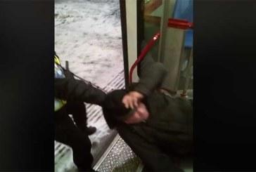 VIDEO: VAATA, MILLINE JÕHKARD on see USS turvatöötaja – turvatöötaja rämetseb karguga inimese kallal