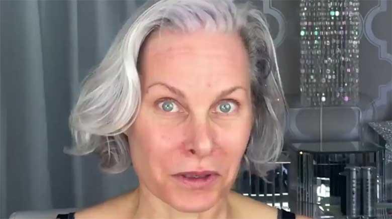 FOTO JA VIDEO: HÄMMASTAV, milline see naine pärast meikimist välja näeb