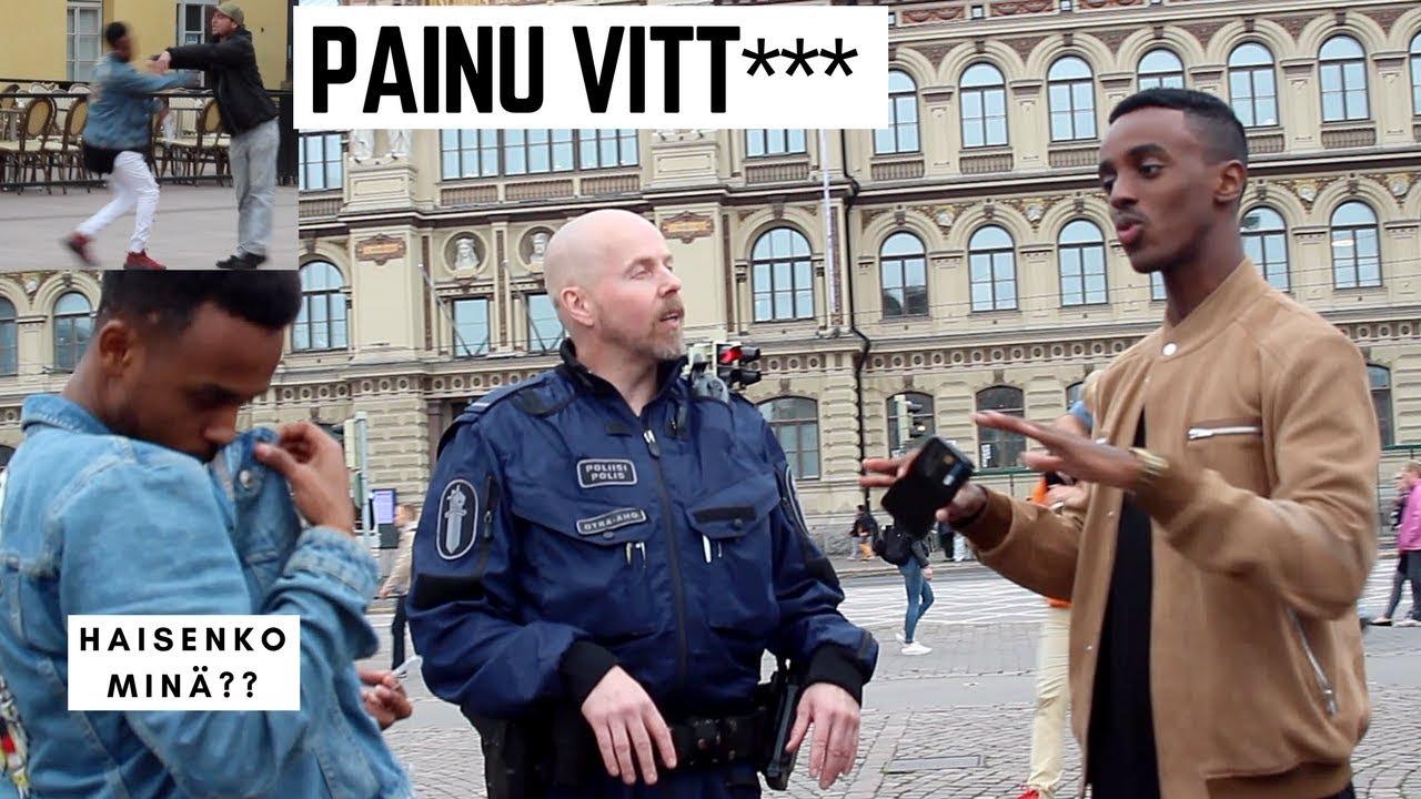 VIDEO: JULM - VAATA, MIDA need somaalid Soomes tänaval inimestele teevad