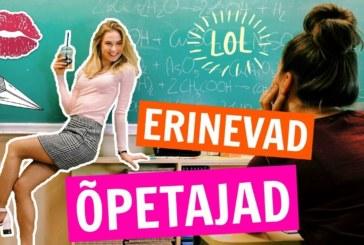 VIDEO: ERINEVAD ÕPETAJATÜÜBID Eesti koolides