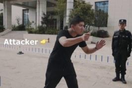 VIDEO: HIINA POLITSEI näitab võtet, kuidas end noaga ründaja eest kaitsta