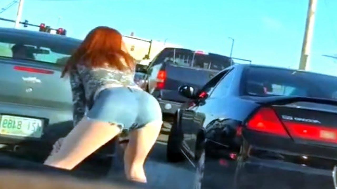 VIDEO: NAISED, kes on liikluses vägivaldsed