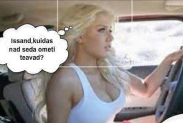 NALJA ELUST ENESEST – Blondiin sõidab autoga ja…
