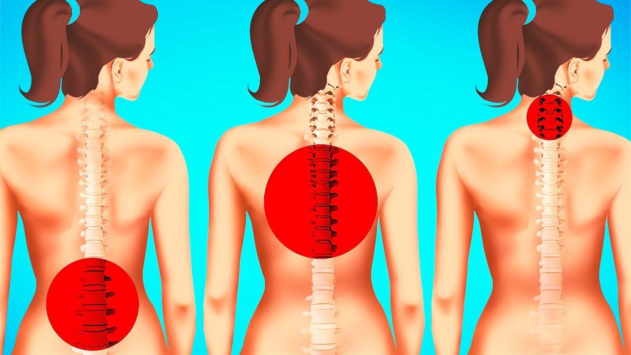 KIIRE 1-minuti harjutus, mis kaotab seljavalu ja vabastab su seljalihased pingest
