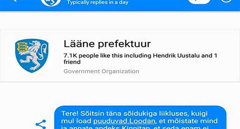 POLITSEI ja linnakodaniku vestlus on lekkinud netti