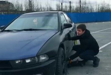 VIDEO: VAATA, KUI lihtsalt saab tungrauaga auto avada