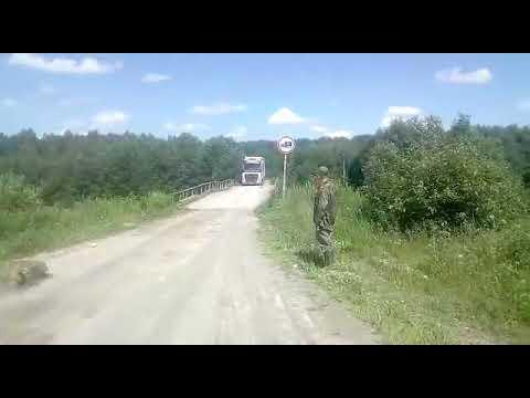 KARM VIDEO - REKKA hakkab üle silla sõitma, mille tulemusena sild puruneb...