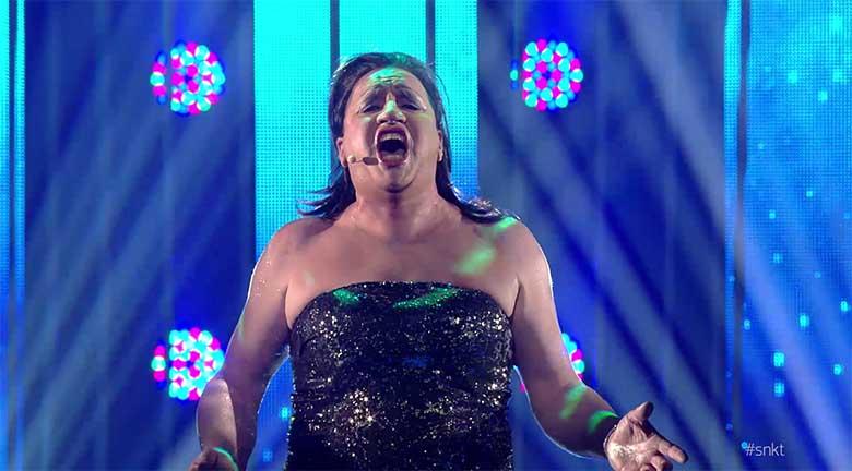 "Nalja nabani - SEPO on Elina Nechayeva ja esitab lugu  ""La Forza"""