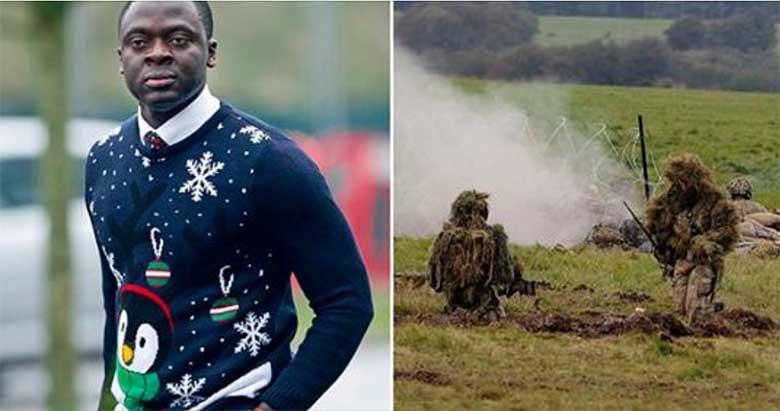 Must sõdur tahab Briti kaitseväelt saada külmetamise eest 150 000 naela