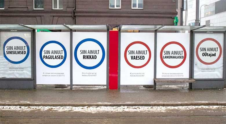 Eesti 200 vahetas oma ühiskonda lõhestavad reklaamid veel provokatiivsemate vastu