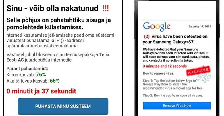 JAGAGE - Politseinik Maarja Punak annab teada, kui mobiili saabub eesti või inglise keelne teade