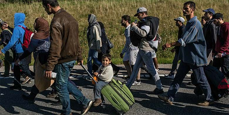 FOTO: HÜVASTI migrandid - Taani saadab pagulased üksikule saarele
