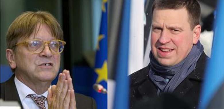 """Ratase vastus Verhofstadtile: """"Brüssel ei peaks Eestile ette kirjutama, missugune on meie uus koalitsioon!"""""""
