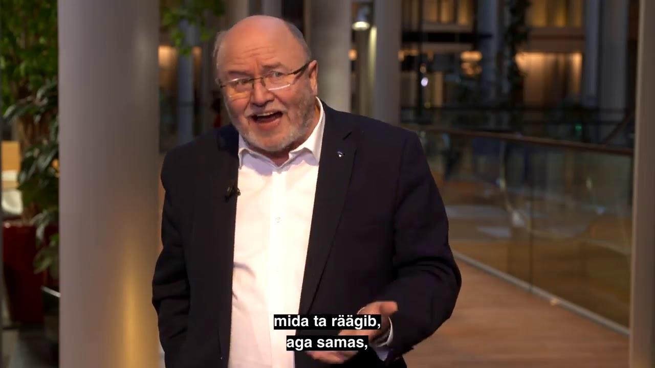VIDEO: Igor Gräzin annab teada šokeeriva tõe Euroopa Liidu kohta - Eestit on juba rünnatud