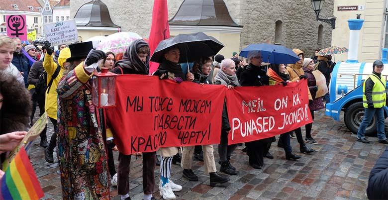ARVAMUS: Kui te olete Kõigi Eesti ja armastate KÕIKI, siis miks te tulete tänavale tigedate loosungitega?